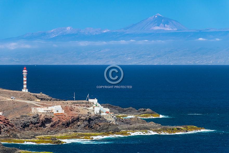 Lighthouse of Sardina & Tenerife