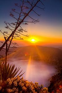 Bandama sunrise