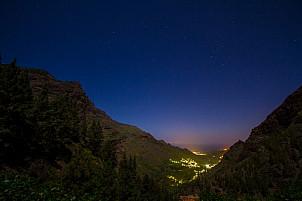 Moonlit Valle de Agaete