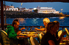 Seaside dinner - tenerife