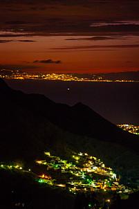 Agaete Valley at dusk