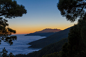 Atardecer en La Palma