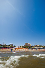 The beach of Playa del Inglés
