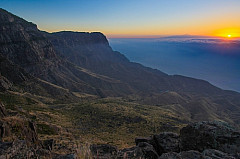 Faneuqe, Guayedra and the Teide at sunset