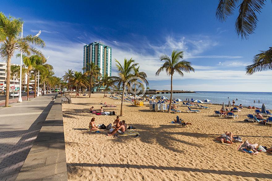 Playa El Reducto Lanzarote
