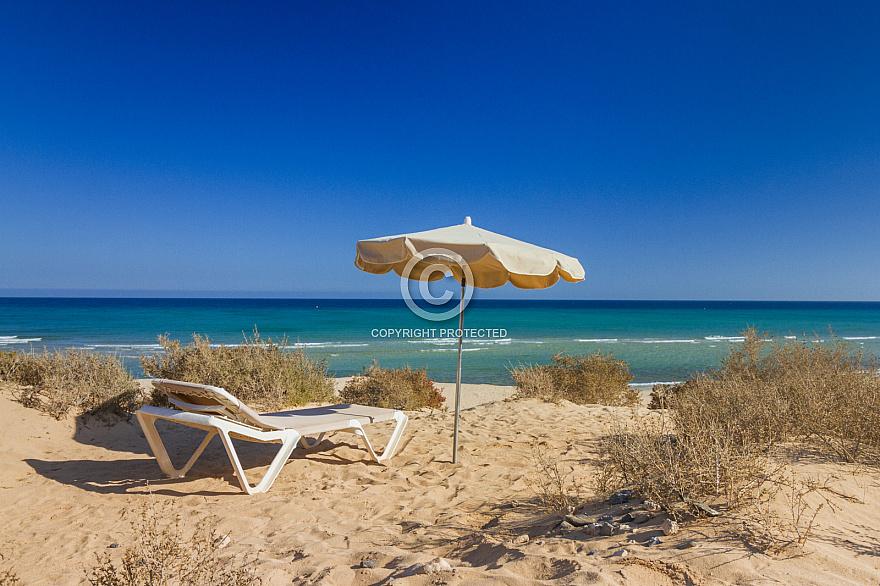 Playa Esmerelda Fuerteventura