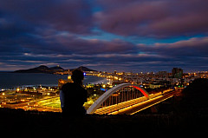 Las Palmas by night