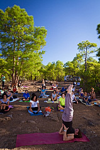 Yoga in Tamadaba