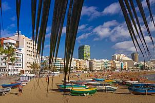 Las Canteras Beach in Las Palmas