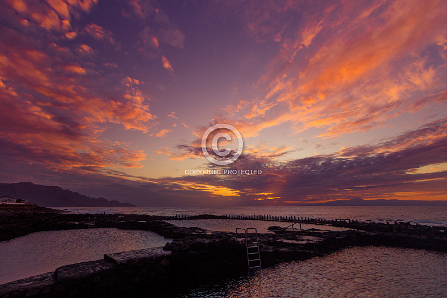 Sunset Las Salinas Agaete