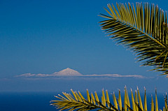 Snow on the Teide, Tenerife