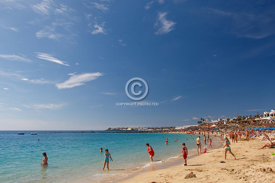 Playa Dorada . Lanzarote