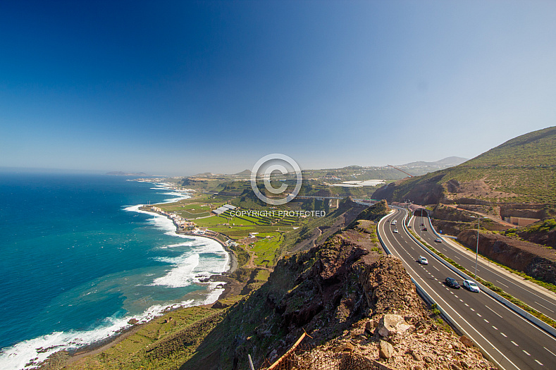 North coast of Gran Canaria