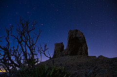 Roque Nublo and stars