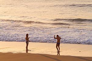 Las Canteras Beach in December