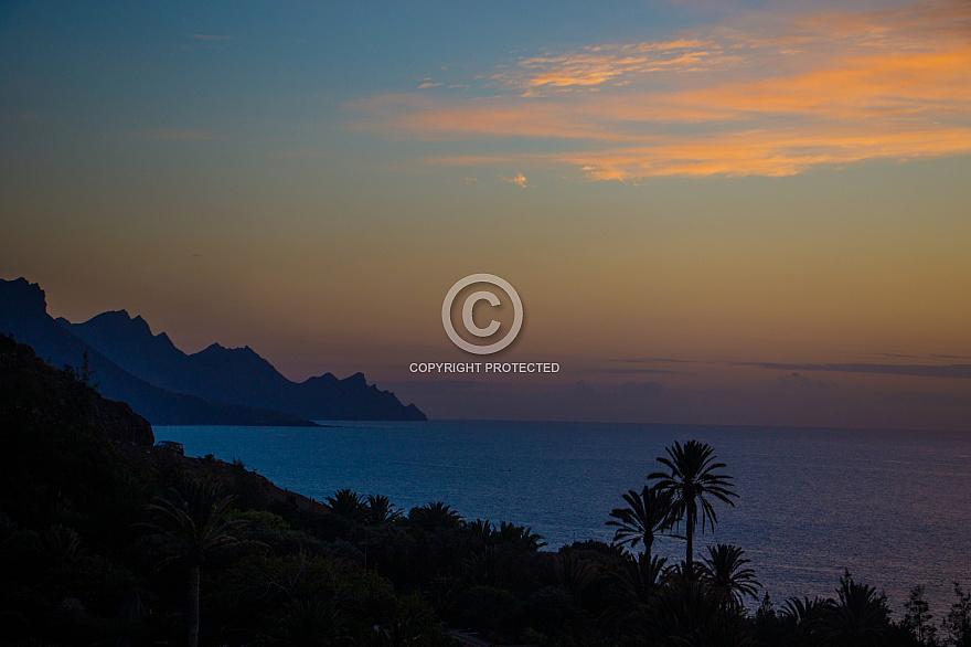 Sunset at Guayedra