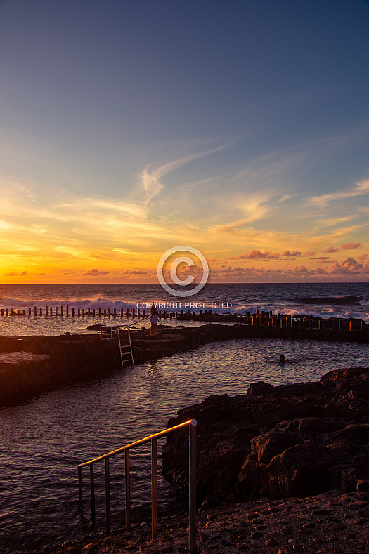 Sunset from Agaete