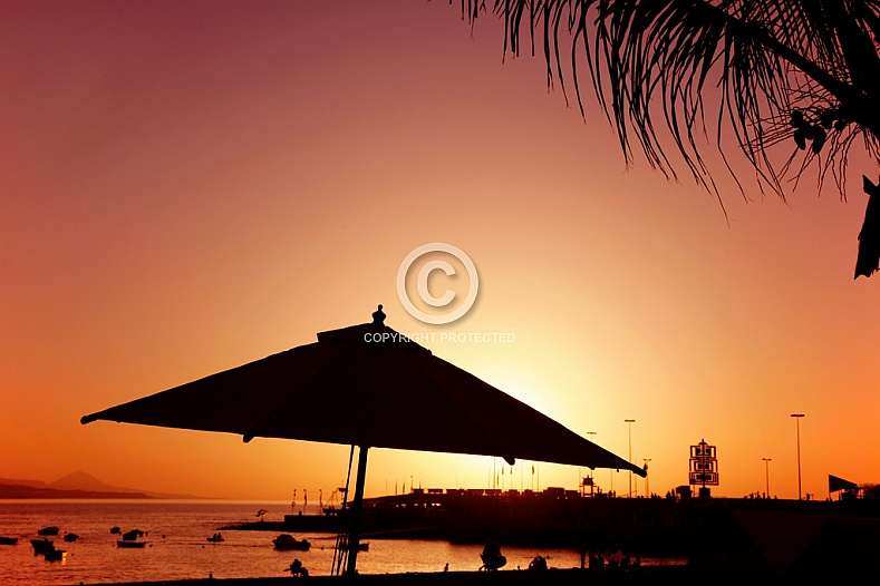 Canteras silhouette