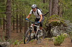 Mountainbike on Gran Canaria