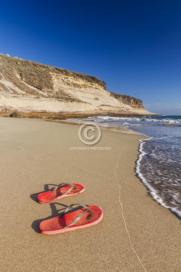 Playa Diego Hernandez Tenerife