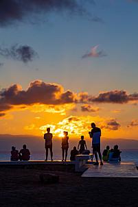 Sunset at Faro de Sardina