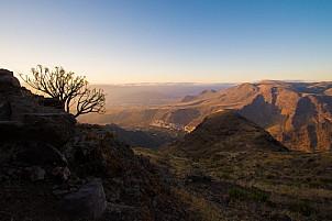 La Suerte in the Valley of Agaete at sunset