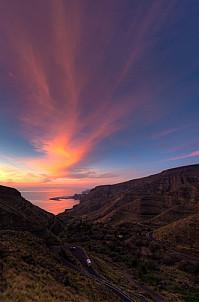 Guayedra sunset