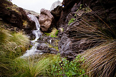 Waterfalls in the barranco of La Palma, Agaete