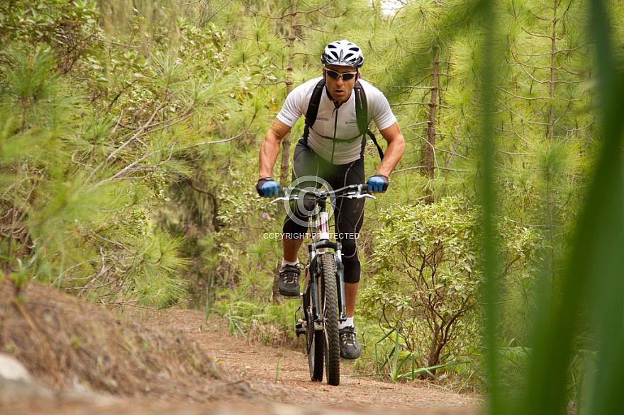 Mountainbike on Gran Canaria