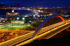 Las Palmas by night