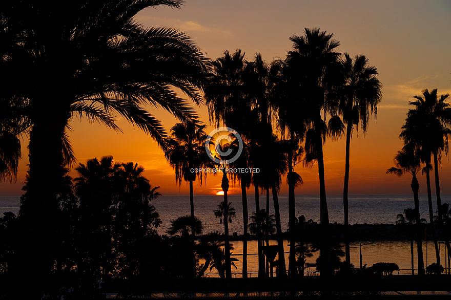 Atardecer Sunset at Amadores