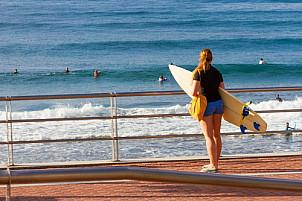 Surfing at La Cicer