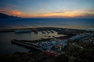 Sunset at Puerto de las Nieves