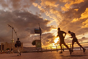 Las Canteras sunset