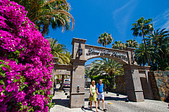 Hotel entrance in Meloneras / Maspalomas