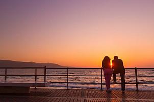 Canteras Beach Sunset