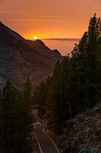 Berrazales sunset - Valle de Agaete